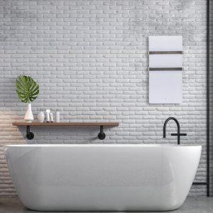Infrasarkanais dvieļu žāvētājs TH400 (Wi-Fi) vannas istabā