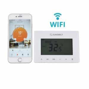 Smart1.0 Pro bezvadu termostats ar (Wifi)